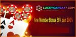 Promo Bonus Terbesar Poker 100%
